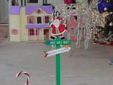 Santa at Christmason Thanksgiving day