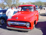 out of focus1956 Ford PU