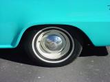 1960 B100 Travelall wheel