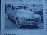 1947 Hudson pickupOld Cars Weekly News