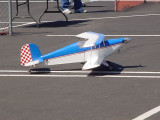 flying model airplane