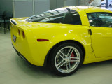 Yellow Z06 Corvette