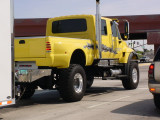 monster yellow truck
