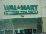 Wal Mart neighborhood store