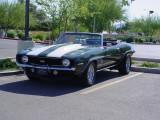 1967 green Camaro