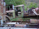 old flatbed truck