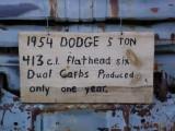 1954 Dodge textplus guest comment