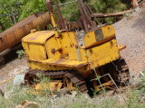 yellow Cat tractor