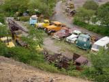 trucks below