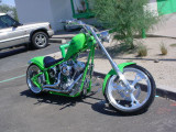 custom green chopper