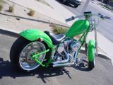 custom green chopper