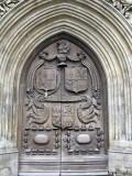 Bath Abbey. West Doors