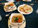 Tuscan vegetarian bean soup