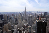 South towards Empire State building