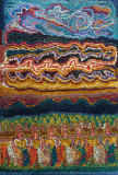 Fibre woolwork 32x46 1981 N.Rich