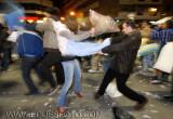 Batalla de almohadas en Madrid