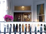 Tiffany glass windows ~ April 1st