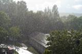 Sudden summer rain