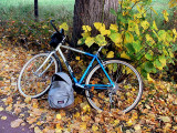 ma bicyclette bleue.