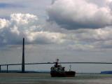 le pont de Normandie.