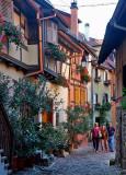 une ruelle d'Eguisheim