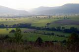 la ligne bleue des Vosges.
