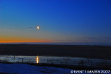 Mid March Moonset