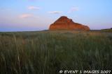 Sunset At Castle Butte