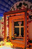 Beautifully-Framed Crucifix, Querétaro, Mex.