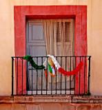 Patriotic Balcony, Querétaro, Mex.