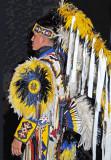 Warrior in Profile