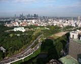 View of Tokyo from New Otani Hotel