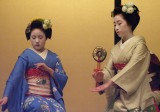 Geishas Performing, Geisha District, Kyoto