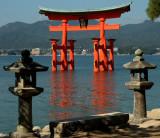 Torii Gate, Itsukushima Shinto Shrine, Miyajima Island