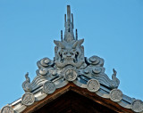 Another Impressive Roof Line, near Shinto Shrine