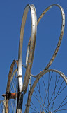 Bicycle Rims' Creation, Oakland Museum