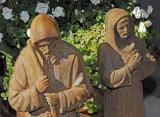 Ceramic Christian figures
