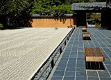 The peacefulness of a Zen garden.