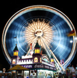 Wheel at high speed at exit to fair!