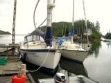docked at Smokey Hole