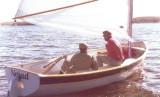 two sailing a Naiad 18