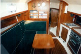 saloon from companionway