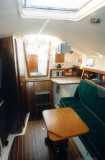 saloon from fwd cabin