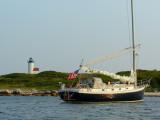Tarpaulin Cove lighthouse & AZOR