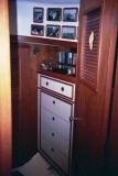 forward cabin, through doorway