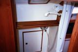 aft door shower & head compartment to port