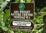 Asa Wright Nature Centre entry