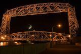 Duluth's Aerial Lift Bridge  ~  October 29  [9]