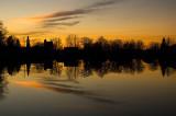 Mill Pond Sunset  ~  November 24  [35]