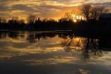 Mill Pond Sunset 3  ~  November 25